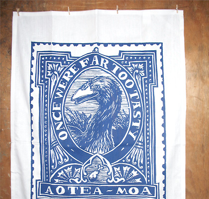 'Ao-'tea'(towel)-Moa' by Katrina Perano