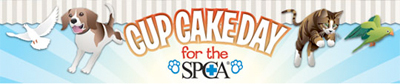 Cupcake Day for the SPCA! Monday 30 August 2010