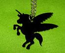 Jet Black unicorn