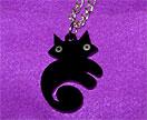 Le petit Chat Noir Pendant - AKA tiny Cat