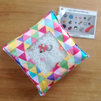 I Spy Bag - Colourful Geometric by The Makery