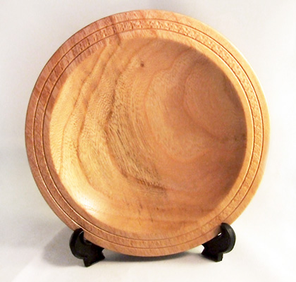 treessetfree small cherry wood platter