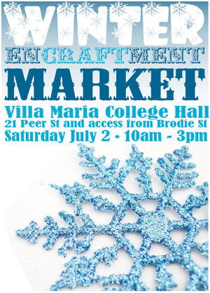 Winter Encraftment Market, Saturday 2 July, Christchurch