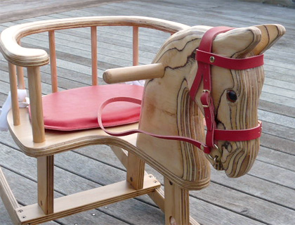 Toddler's Chair Rocking Horse by Woodcarver