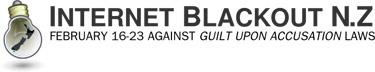 internet blackout banner
