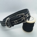 Hand-stitched Leather Flat Dog Collars