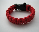Paracord Bracelet - Red