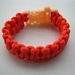 Paracord Bracelet - Orange