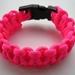 Paracord Bracelet - Flouro Pink