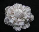 "Shabby Chic Brooch - ""Jane"""
