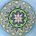 Flower Mandala in Watercolor