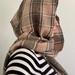 Lambs wool hand woven hooded-scarf