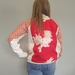 Vintage silk Bomber Jacket Large