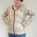 Vintage silk Bomber Jacket Medium