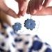 Flower Power Earrings 〰️ Cornflower