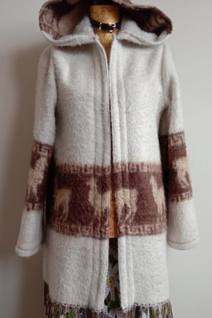 Upcycled Blanket Coat
