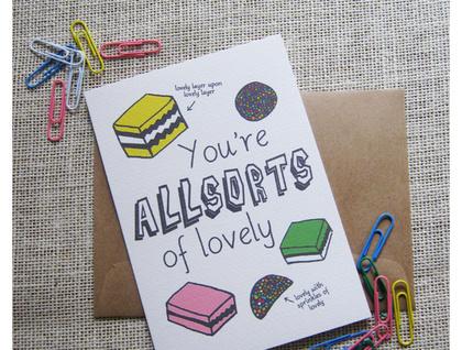 Allsorts of lovely card