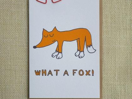 What a Fox card