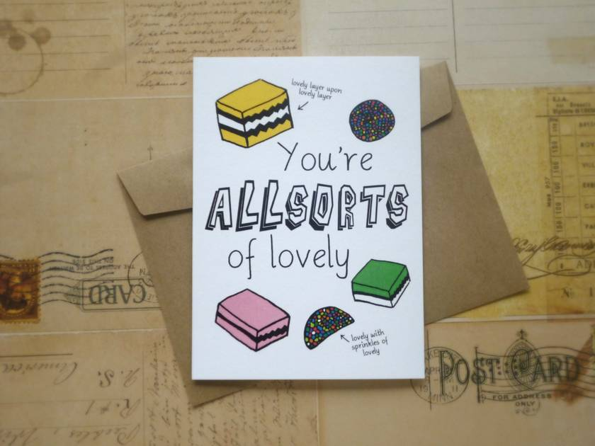 Allsorts of lovely card