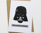 """""""You are my Father"""" Father's Day card."""