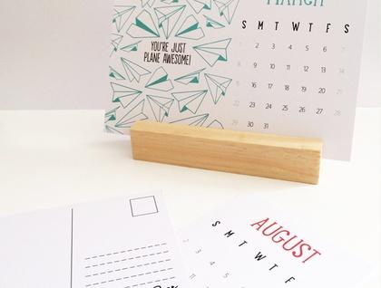 2015 Postcard Calendar