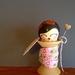 Kokeshi Spool Doll