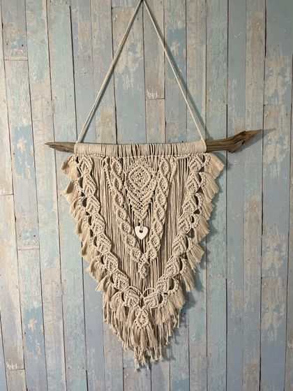 Gypsy Heart Macrame