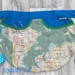 Peg apron/pinny - World Map