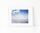 Seek Adventure - summer beach typography photograph