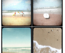 "The Surf Set - set of 4 5x5"" photos"