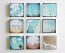 Summer Love - set of 9 photo blocks