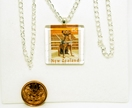 PS147B - Guide Dog Stamp Tile Necklace