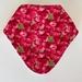Bandana Bib - Raspberries