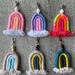 Mini Rainbow Keyring