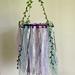 Boho Tulle Mobile - Purple/Mint Green Colour Palette.