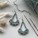 Crochet Dangle Earrings