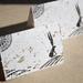 "Hand-made card ""Hare"""