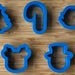 Christmas Cookie Cutter Set - 2 inch