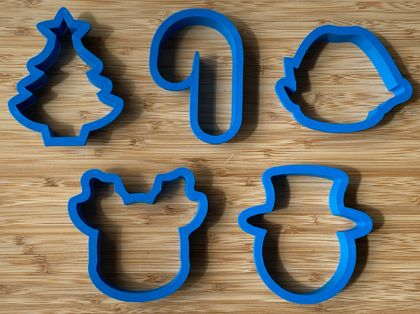Christmas Cookie Cutter Set - 3.5 inch