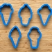 Ice Cream Cookie Cutters - 3.5inch