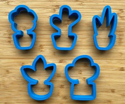 Pot Plant Cookie Cutters - 3.5inch