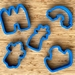 Fairy Land Cookie Cutters - 3.5 inch