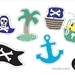 Pirates Ahoy Cookie Cutters - 2inch