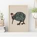 Kiwi Bird hand drawn Illustration