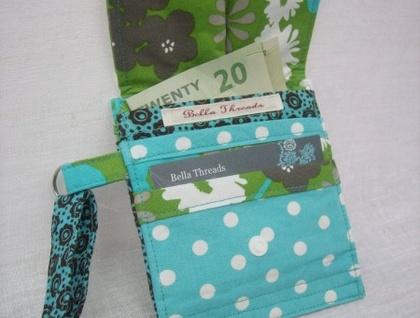 Wristlet Wallet - Retro Green