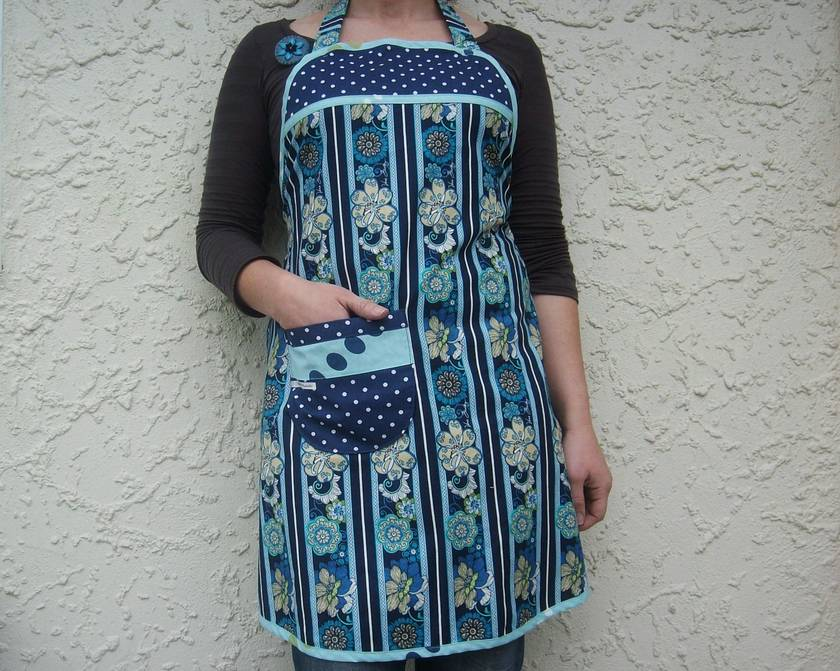 Full Apron - The Beautiful Blues