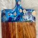 Blue shell serving board