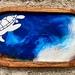 Turtle- Resin serving trinket tray