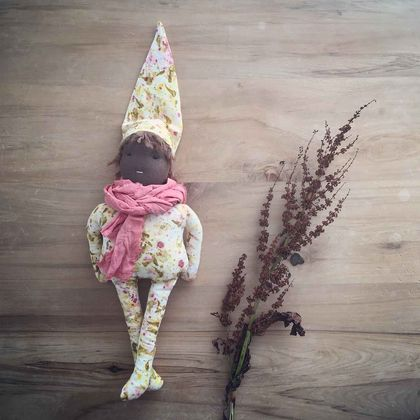 Naturally Dyed Waldorf Inspired Doll 'Apollo'