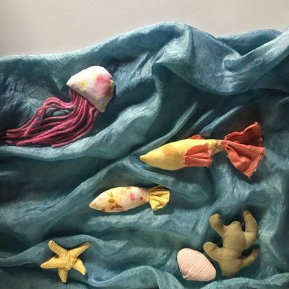 Ocean Story-Telling Set with Play-Silk